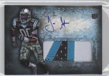 2012 Topps Inception Rookie Autographed Jumbo Patch [Autographed] #AJP-JA - Joe Adams