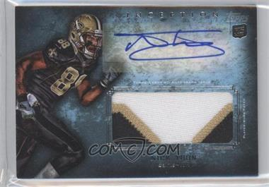 2012 Topps Inception Rookie Autographed Jumbo Patch [Autographed] #AJP-NT - Nick Toon
