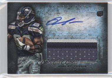 2012 Topps Inception Rookie Autographed Jumbo Patch [Autographed] #AJP-RTU - Robert Turbin