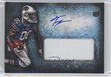 2012 Topps Inception Rookie Autographed Jumbo Patch [Autographed] #AJP-TG - T.J. Graham
