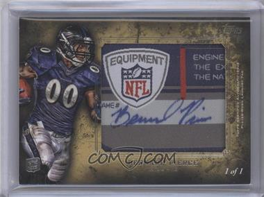 2012 Topps Inception Rookie Autographed Laundry Tag [Autographed] #ALT-BP - Bernard Pierce /1