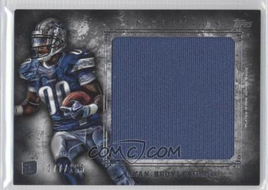 2012 Topps Inception Rookie Jumbo Relics #JR-RB - Ryan Broyles /165