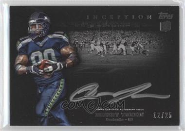 2012 Topps Inception Rookie Silver Signings [Autographed] #SS-RTU - Robert Turbin /25