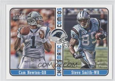 2012 Topps Magic - Charismatic Combos #CC-NS - Cam Newton, Steve Smith, Steve Smith