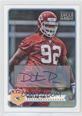 2012 Topps Magic Autograph [Autographed] #211 - Dontari Poe