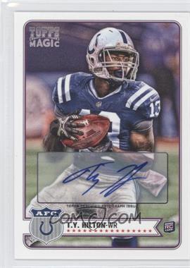 2012 Topps Magic Autograph [Autographed] #215 - T.Y. Hilton