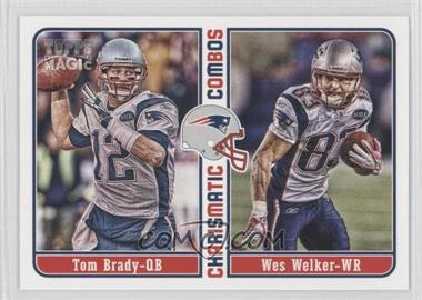2012 Topps Magic Charismatic Combos #CC-BW - Tom Brady, Wes Welker