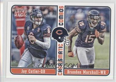 2012 Topps Magic Charismatic Combos #CC-CM - Jay Cutler, Brandon Marshall