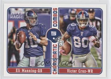 2012 Topps Magic Charismatic Combos #CC-MC - Eli Manning, Victor Cruz