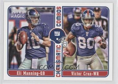 2012 Topps Magic Charismatic Combos #CC-MC - Eli Manning, Victor Cruz