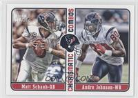 Matt Schaub, Andre Johnson