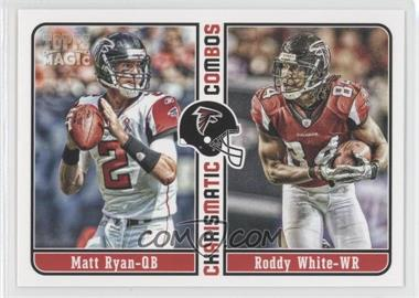 2012 Topps Magic Charismatic Combos #CC-RW - Matt Ryan, Roddy White