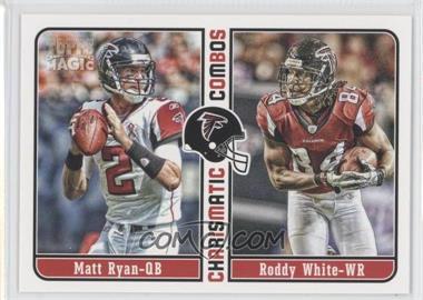2012 Topps Magic Charismatic Combos #CC-RW - Matt Ryan, Roddy White