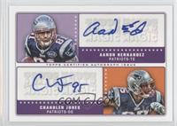 Aaron Hernandez, Chandler Jones /25