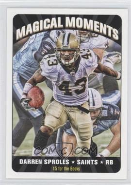 2012 Topps Magic Magical Moments #MM-DS - Darren Sproles