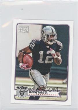 2012 Topps Magic Mini #158 - Jacoby Ford