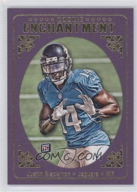 2012 Topps Magic Rookie Enhancement #RE-JB - Justin Blackmon