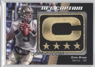 2012 Topps NFL Captain's Patch #NCP-DB - Drew Brees