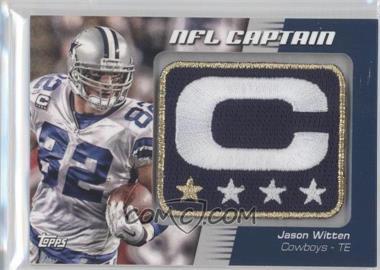 2012 Topps NFL Captain's Patch #NCP-JW - Jason Witten