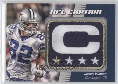 2012 Topps NFL Captain's Patch #NCP-JW - Jason Witten