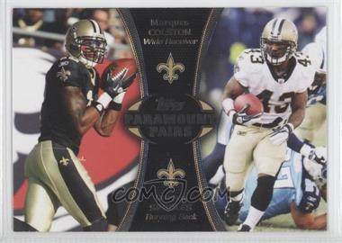 2012 Topps Paramount Pairs #PA-CS - Marques Colston, Darren Sproles