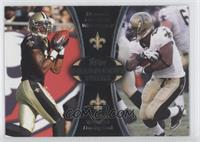 Marques Colston, Pierre Thomas