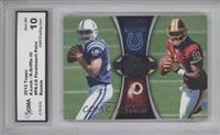 Andrew Luck, Robert Griffin III [ENCASED]