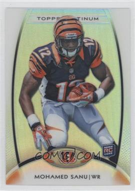 2012 Topps Platinum - [Base] #121 - Mohamed Sanu