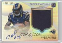 Chris Givens /1058