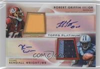 Robert Griffin III, Kendall Wright /25
