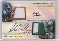Rueben Randle, Stephen Hill /25