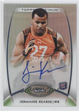 2012 Topps Platinum Rookie Certified Autograph [Autographed] #159 - Jermaine Kearse