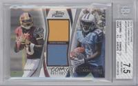 Robert Griffin III, Kendall Wright /405 [BGS7.5]