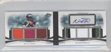 2012 Topps Prime - Level I Autographed Relic Book #P1-NF - Nick Foles /10