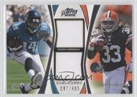 Trent Richardson, Justin Blackmon /405