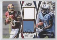 Robert Griffin III, Kendall Wright /405