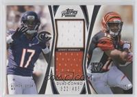 Alshon Jeffery, Mohamed Sanu /405