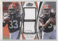Trent Richardson, Brandon Weeden /405