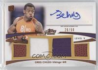 Greg Childs /50