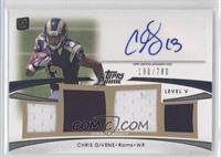 Chris Givens /780