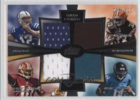 Andrew Luck, Trent Richardson, Robert Griffin III, Justin Blackmon /610