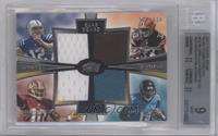 Andrew Luck, Trent Richardson, Robert Griffin III, Justin Blackmon /610 [BGS&nb…