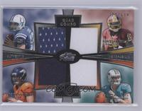 Andrew Luck, Brock Osweiler, Robert Griffin III, Ryan Tannehill /610 [Mint]