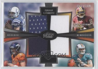 2012 Topps Prime Quad Combo Relics #QCR-LOGT - Andrew Luck, Brock Osweiler /610