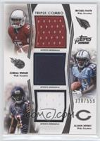 Michael Floyd, Kendall Wright, Alshon Jeffery /559