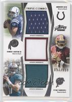 Andrew Luck, Robert Griffin III, Ryan Tannehill /559