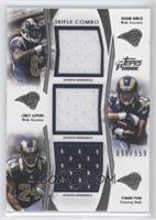 Brian Quick, Chris Givens, Isaiah Pead /559