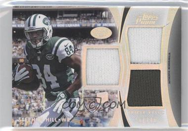 2012 Topps Prime Triple Relics Silver Rainbow #TR-SH - Stephen Hill /10
