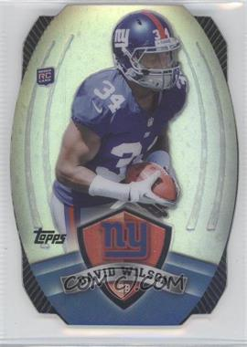 2012 Topps Prize Game Time Giveaway Die-Cut #22 - David Wilson