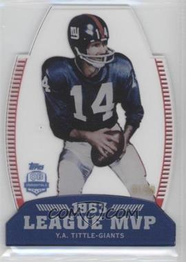 2012 Topps QB Immortals League MVP Die-Cut #LMVP-YAT - Y.A. Tittle /50